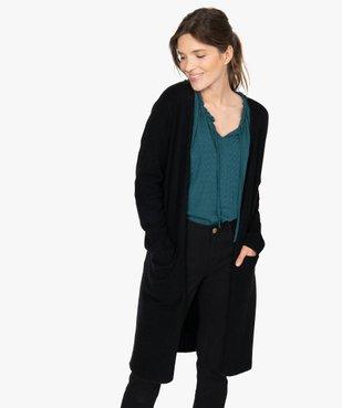 Gilet femme longueur genou à porter ouvert vue1 - GEMO(FEMME PAP) - GEMO