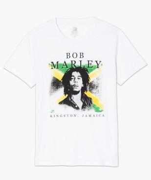 Tee-shirt homme avec motif Bob Marley - Zion vue4 - BOB MARLEY - GEMO