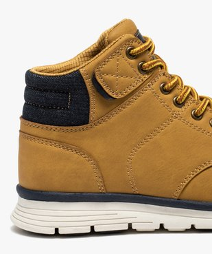 Boots garçon à col rembourré et lacets bicolores vue6 - Nikesneakers (ENFANT) - Nikesneakers
