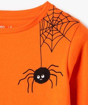 Tee-shirt garçon avec motifs araignées vue3 - GEMO (ENFANT) - GEMO