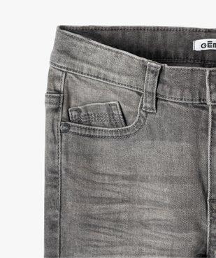 Jean garçon coupe slim 5 poches vue2 - GEMO C4G GARCON - GEMO