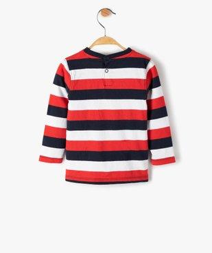 Tee-shirt rayé bébé garçon – Lulu Castagnette vue3 - LULUCASTAGNETTE - GEMO