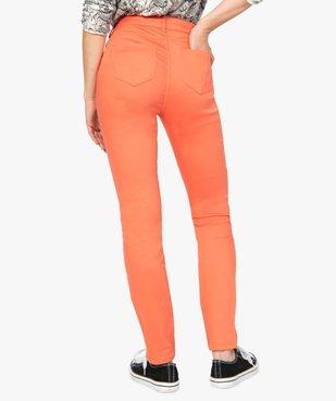 Pantalon femme coupe Slim taille normale - L26 vue3 - GEMO(FEMME PAP) - GEMO