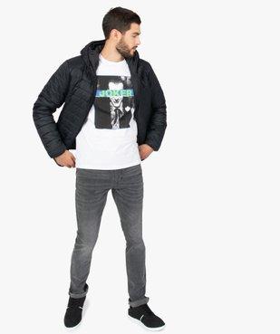 Tee-shirt homme à manches courtes imprimé - Joker vue5 - JOKER - GEMO