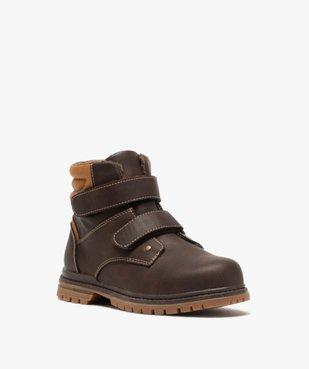 Boots garçon à scratch avec doublure et col rembourrés vue2 - Nikesneakers (ENFANT) - Nikesneakers