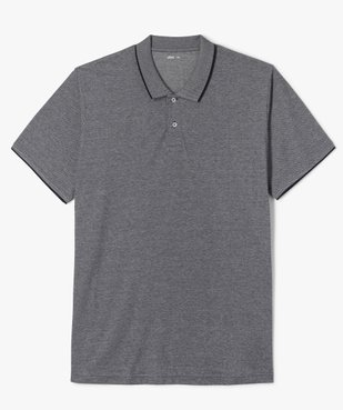 Polo homme manches courtes en maille piquée bicolore vue1 - Nikesneakers (G TAILLE) - Nikesneakers