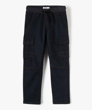 Pantalon garçon multipoches en matière résistante vue1 - Nikesneakers C4G GARCON - Nikesneakers