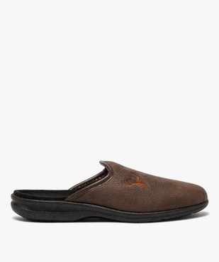 Chaussons homme mules confort imitation cuir vue1 - Nikesneakers(HOMWR HOM) - Nikesneakers