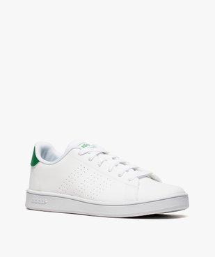 Baskets femme motifs perforés et lacets – Adidas Advantage K vue2 - ADIDAS - GEMO