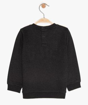Sweat bébé garçon imprimé en relief - Lulu Castagnette motif jersey bouclette et broderie vue2 - LULUCASTAGNETTE - GEMO