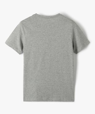 Tee-shirt garçon à manches courtes imprimé Halloween phosphorescent vue4 - Nikesneakers (ENFANT) - Nikesneakers