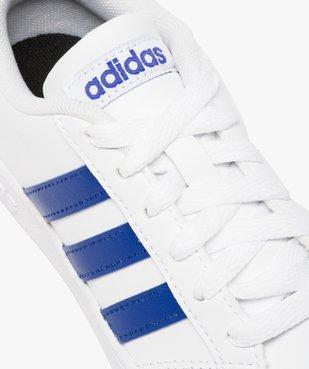 Basket enfant à lacets bicolore Baseline K - Adidas vue6 - ADIDAS - GEMO