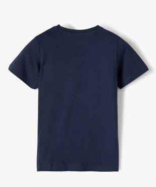 Tee-shirt garçon à manches courtes avec motif – Sonic vue3 - SONIC - GEMO