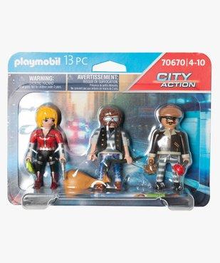 Jouet enfant équipe de bandits - Playmobil vue1 - DIVERS LICENCE - GEMO