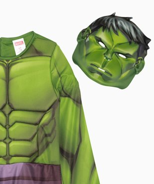 Déguisement enfant Hulk - Marvel (2 pièces) vue3 - MARVEL - GEMO