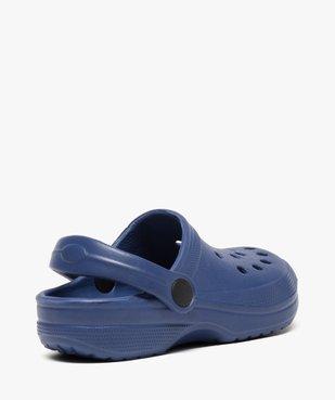 Sabots garçon unis avec perforations vue4 - Nikesneakers (ENFANT) - Nikesneakers