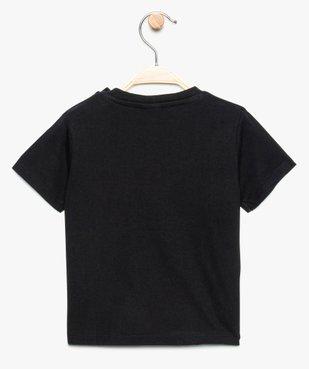 Tee-shirt bébé garçon avec large motif - SmileyWorld vue2 - SMILEY - GEMO