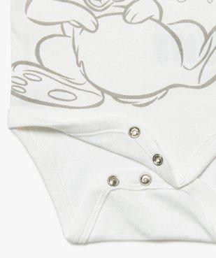 Body bébé mixte à manches courtes avec motifs animaux – Disney Baby vue2 - DISNEY DTR - GEMO