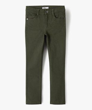 Pantalon garçon coupe skinny en toile extensible vue1 - Nikesneakers (ENFANT) - Nikesneakers