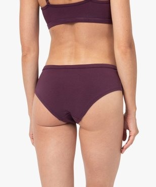 Shorty femme en coton stretch - Camps United vue2 - CAMPS UNITED - Nikesneakers