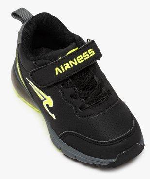 Baskets garçon bicolores à lacets – Airness vue5 - AIRNESS - GEMO