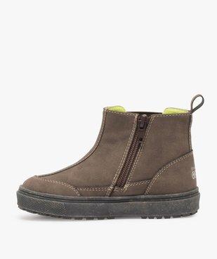 Boots bébé garçon à surpiqûres contrastées – Gepy vue3 - FRIENDLY GEPY - GEMO