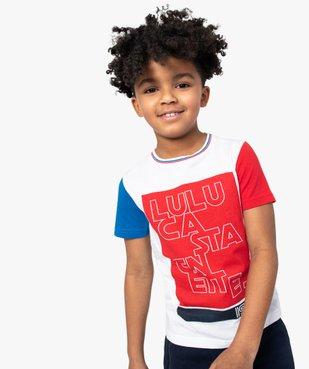 Tee-shirt garçon multicolore – Lulu Castagnette vue1 - LULUCASTAGNETTE - GEMO
