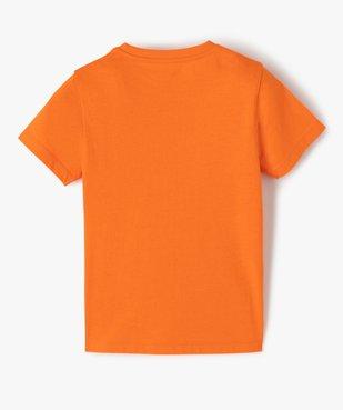 Tee-shirt garçon imprimé à manches courtes vue3 - GEMO (ENFANT) - GEMO