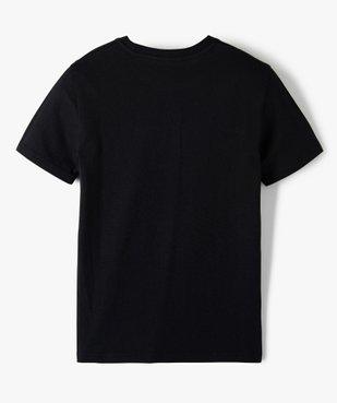 Tee-shirt garçon à manches courtes uni  vue3 - GEMO C4G GARCON - GEMO