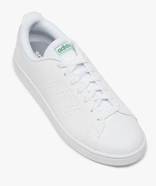 Tennis homme unies à lacets – Adidas Advantage vue5 - ADIDAS - Nikesneakers