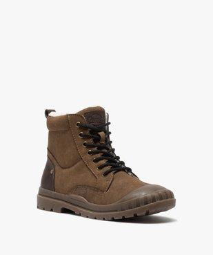 Boots garçon zippées à bout renforcé et col rembourré vue2 - Nikesneakers (ENFANT) - Nikesneakers
