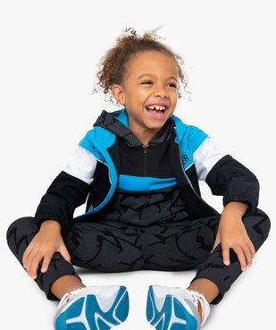 Sweat garçon à capuche multicolore vue5 - GEMO (ENFANT) - GEMO