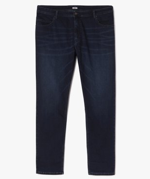 Jean homme brut extensible coupe droite vue1 - GEMO (G TAILLE) - GEMO