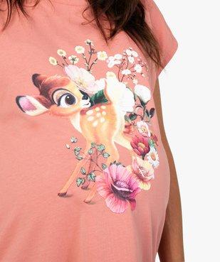 Tee-shirt de grossesse loose à manches courtes - Disney vue2 - DISNEY DTR - GEMO