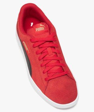 Tennis homme bicolores dessus cuir – Puma Smash V2 vue5 - PUMA - GEMO