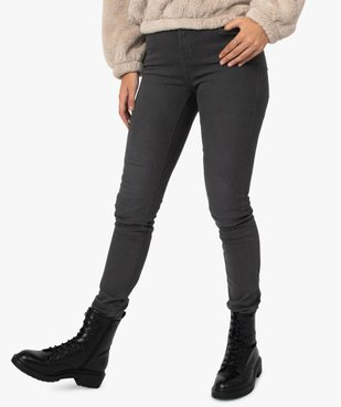 Pantalon femme coupe Slim taille haute – L30 vue2 - GEMO(FEMME PAP) - GEMO