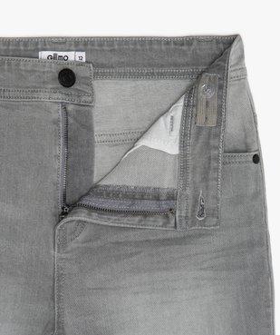 Bermuda garçon en jean 5 poches vue2 - GEMO (JUNIOR) - GEMO