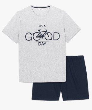Pyjama homme à manches courtes et short vue4 - Nikesneakers(HOMWR HOM) - Nikesneakers