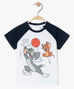 Tee-shirt bébé garçon à manches courtes - Tom & Jerry vue1 - TOM ET JERRY - GEMO
