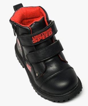 Boots à bandes scratch et semelle crantée - Cars vue5 - CARS - GEMO