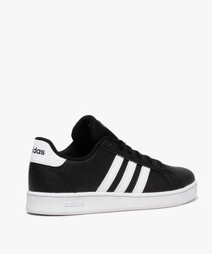 Baskets garçon à lacets – Adidas Grand Court vue4 - ADIDAS - Nikesneakers