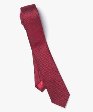 Cravate homme à micro-motifs effet satiné vue1 - GEMO (ACCESS) - GEMO