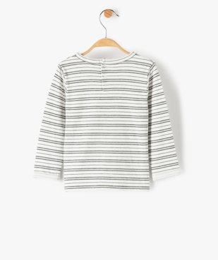 Tee-shirt bébé garçon à rayures – Lulu Castagnette vue4 - LULUCASTAGNETTE - GEMO