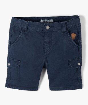 Short bébé garçon extensible look baroudeur vue1 - GEMO(BEBE DEBT) - GEMO