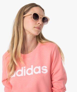 Sweat femme léger avec imprimé XXL - Adidas vue2 - ADIDAS - GEMO