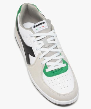 Tennis homme multicolores à lacets – Diadora Raptor vue5 - DIADORA - GEMO
