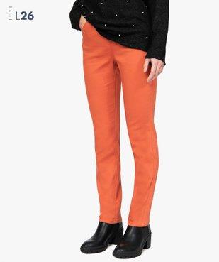 Pantalon femme coupe Regular - Longueur L26 vue1 - GEMO(FEMME PAP) - GEMO