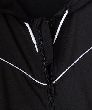 Sweat fille spécial sport avec fermeture zippée vue2 - GEMO (JUNIOR) - GEMO
