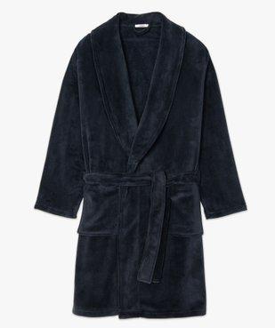 Robe de chambre peignoir pour homme vue4 - GEMO(HOMWR HOM) - GEMO