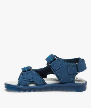 Sandales garçon à scratchs et semelle intérieure cuir vue3 - Nikesneakers (ENFANT) - Nikesneakers